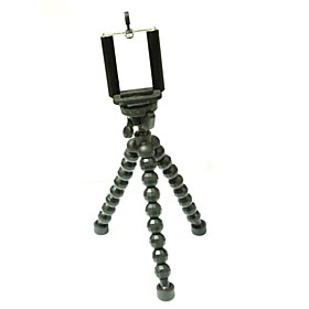 GP124 Universal Portable Stand Holder Octopus Tripod w/ Phone Clamp for Cellphone / Digital Camera