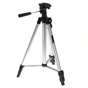 Light Weight Aluminum Tripod Mount / Stand for Camera and Camcorder (Sliver, 60cm, 1kg)