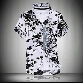 Menn Fashion Kortermet skjorte