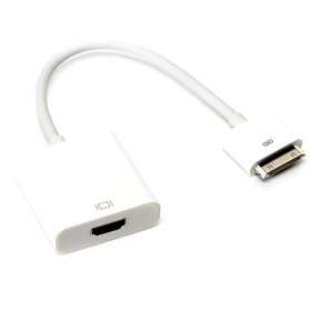 30 Pin Dock Connector to HDMI TV Cable Adapter for iPad 1/2/3 iPhone 4/4s iPod