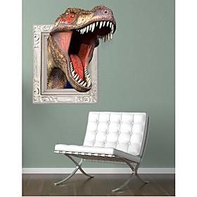 3D Tyrannosaurus Rex Wall Stickers Wall Decals