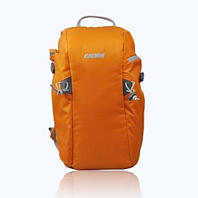 CADEN Waterproof Anti Theft Front Open Backpack Bag for DSLR Camera Canon Sony Nikon - Orange