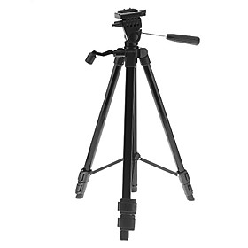 Light Weight Aluminum Tripod Mount / Stand for Camera and Camcorder (Black, 60cm, 1kg)