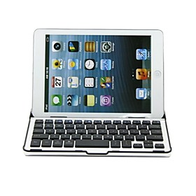 Beskyttende Aluminium Materiale Case Med Indbygget Bluetooth Wireless Keyboard Til Ipad Mini