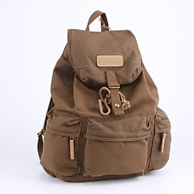 CADEN Camera Bag Waterproof Canvas Travel Backpack for Canon Nikon Sony All SDLR Camera - Dark Coffee