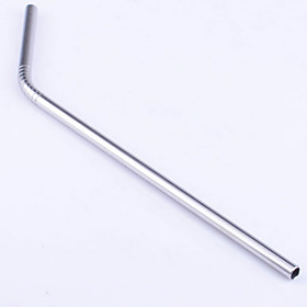 1Pcs 21Cm Stainless Steel Anti-Friction Drinking Straw Beverage Straw