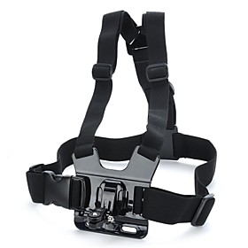 TOZ Ein Modell Einstellbare Chest Mount Harness Camcorder Schultergurt fur Sony Action Cam-Black