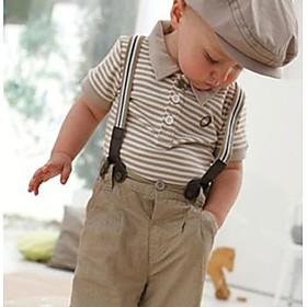 Guttens Toddler Set Gentleman Top Bib med bukser kl?r sett