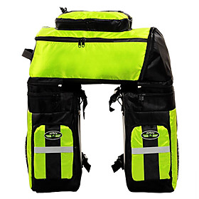 FJQXZ 70 L Bike Panniers Bag 3 In 1 Large Capacity Waterproof Bike Bag 1680D Polyester Bicycle Bag Cycle Bag Cycling / Bike