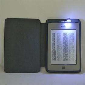 Con la cassa astuta dell'unita di elaborazione sottile copertura del cuoio LED per Amazon Kindle Touch Multi Color