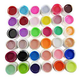 36-couleur Couleurs Pures 8ml Nail Art Gel Uv Pour