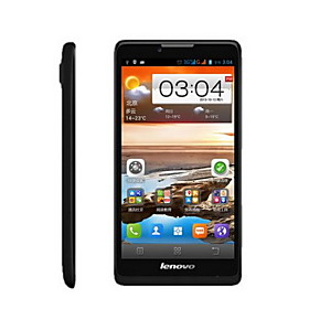 Lenovo A889 6.0' Android 4.2 3G Smartphone (Dual SIM, WiFi,GPS,MTK6582 Quad Core,RAM1GBROM8GB)