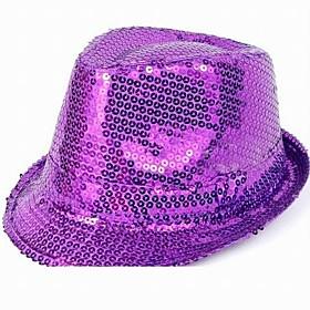 Fashion Jazz Paljetter Hat
