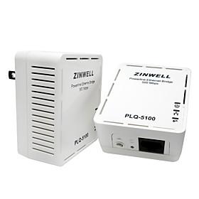 Zinwell Plq 5100 500m Modem Power Adapter Med Iptv Network Card (1 Par)