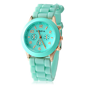 Women's Watch Fashion Silicone Strap  Cool Watches Unique Watches