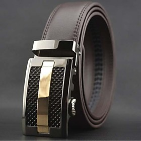 Men's Fashion Leisure Automatic Buckle Belt Jewelry