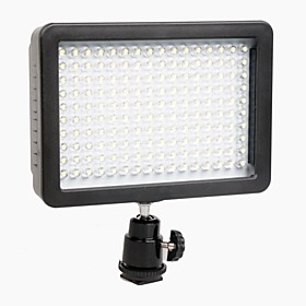 Wansen W160 Led Videolys Lampe 12w 1280lm 5600k/3200k Lysd?mpes Til Canon Nikon Pentax Dslr Kamera Video Light Wholesale