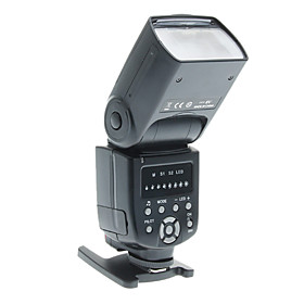 Triopo Ws 560 Universal Led Flash Speedlite Speedlight For Nikon / Canon / Olympus / Pentax
