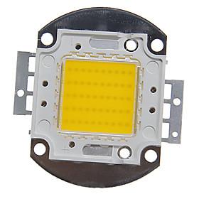 ZDM 1pc Integrated LED 4000-5000 lm 30 V Bulb Accessory LED Chip Aluminum for DIY LED Flood Light Spotlight 50 W Warm White