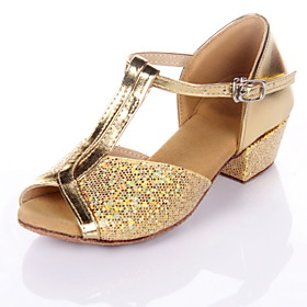 Женщины & Детская обувь искусственной кожи Dance For Латинской / бальных Сандал