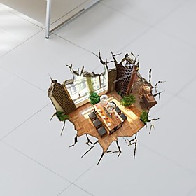 3D The Basement Wall Stickers Wall Decals