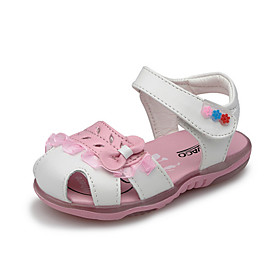 Girl's Flat Heel Sling Back Sandals with Stitching Lace Shoes(More Colors)