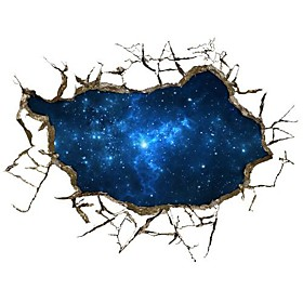 3D The Starry Sky Wall Stickers Wall Decals
