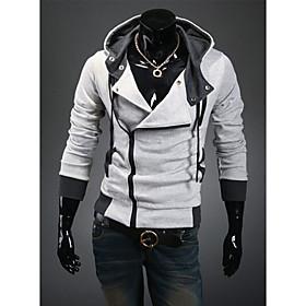 Men's Fashion Hoodie  Sweatshirt - Solid Colored 1827349