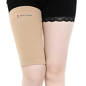0866Elastic Thigh Support Brace Protector – Khaki