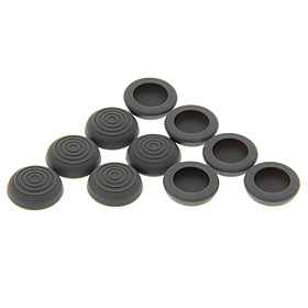 10pcs Anti-Slip Silicone Analog Cap Covers for PS4/PS3/XBOX ONE/XBOX360 Controller