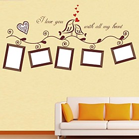 Frankie DIY Photo Frames Decorative Wall Stickers
