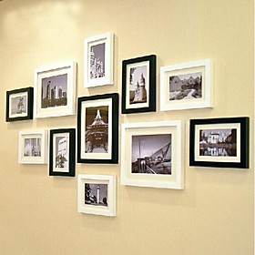 2 Colors Photo Wall Frame Collection Set of 11