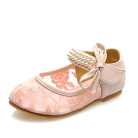 Lace Girl's Flat Heel Mary Jane Flats Shoes(More Colors)