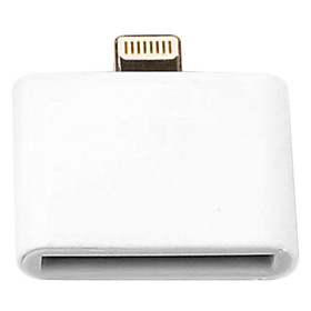 8-Pin-Stecker auf 30-Pin-Buchse Adapter fur iphone 6 iPhone 6 und iPhone / iPad / iPod