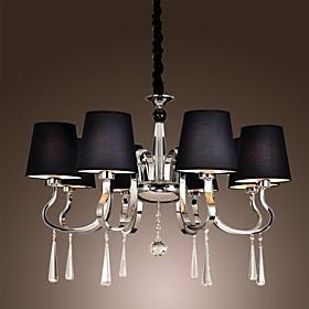 40 Lampadari ,  Contemporaneo Tradizionale/Classico Rustico/campestre Vintage Rustico Isola Cromo caratteristica for Stile Candela Metallo