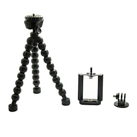 Universal Portable Stand Holder Octopus Tripod with Tripod for Cellphone / Digital Camera/Gopro Hero 3/3/2