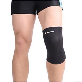 0632 Sports Adjust Knee Elastic Support – Black