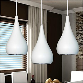 Pendant Light ,  Modern/Contemporary Globe Painting Feature for LED MetalDining Room Kitchen Study Room/Office Kids Room Game Room