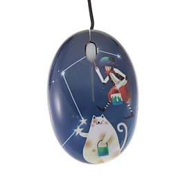 Mago y Cat Mini impresi? color USB rat?ptico con cable