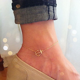 Anklet/Bracelet Others Unique Design Fashion Alloy Gold Women's Jewelry 1pc