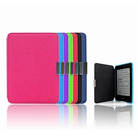 6 inch PU Wake-up/Sleep Case for Kindle Paperwhite