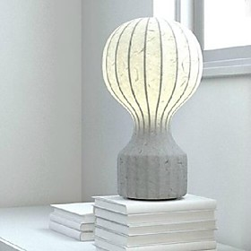 Art Silk Table Light Creative Bedroom Lamp