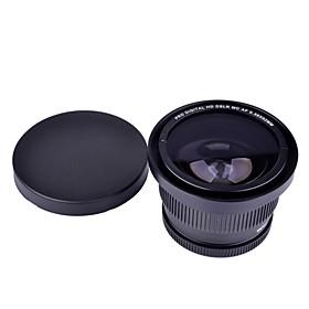 52 millimetri 0.35x Super Fisheye grandangolare per il cannone Nikon Sony Fuji Fotocamere