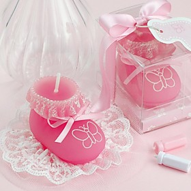 Party Favors Gifts-1Piece / Set Candle Favors Tag Non-personalised Pink  /  Blue