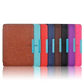 Crazy Horse Leather Cover Case for Amazon Kindle Paperwhite 6 Inch Ebook