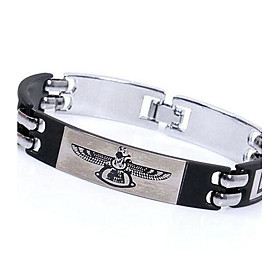Men's Eagle Wings Titanium Steel Bangle