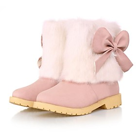 Women's Low Heel Snow Boots Ankle Boots (More Colors)