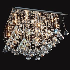 20 Lampadari ,  Tradizionale/Classico Cromo caratteristica for Cristallo Metallo Salotto Camera da letto Sala da pranzo