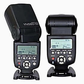 Yongnuo YN-560III Ultra-long-range wireless Flash Speedlite for Nikon Canon Pentax DSLR Camera