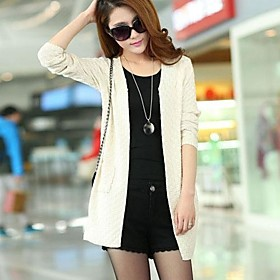 Women's Autumn New Long Sweater Cardigan